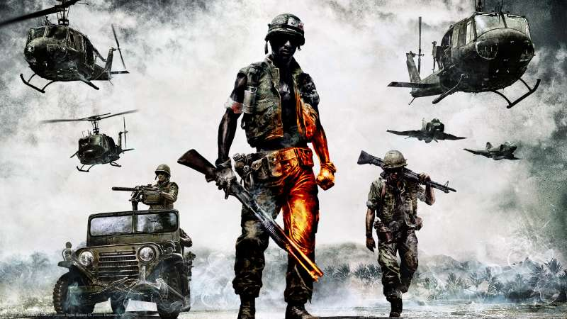 Battlefield: Bad Company 2 Vietnam wallpaper or background 01
