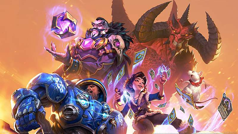 Blizzard Entertainment wallpaper or background