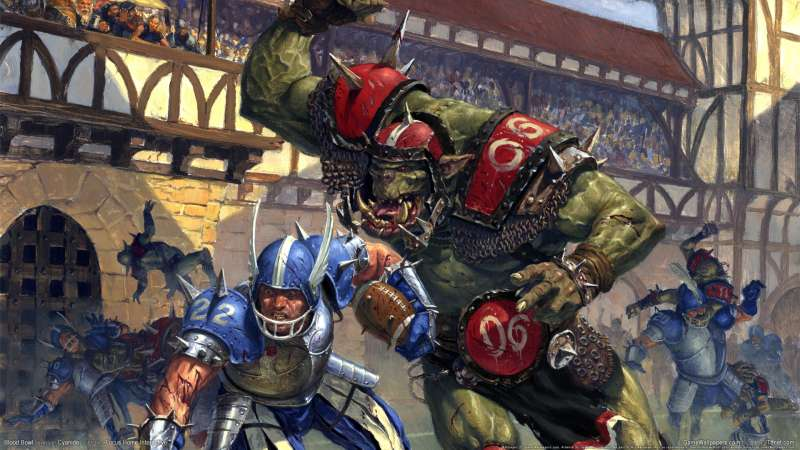 Blood Bowl wallpaper or background 01