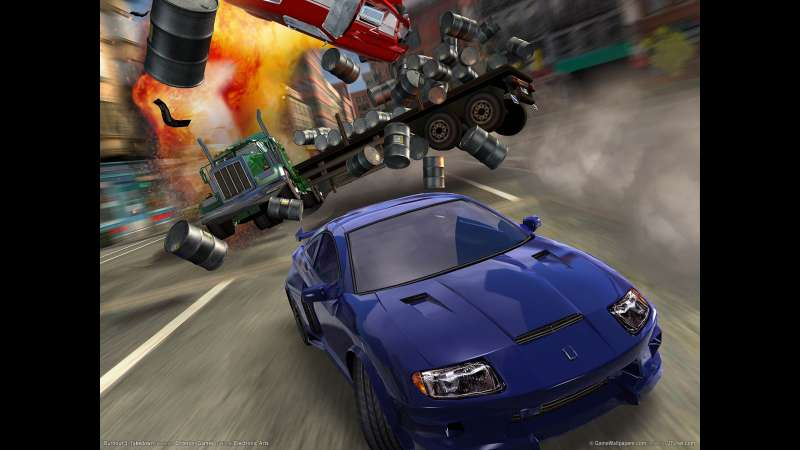 Burnout 3: Takedown wallpaper or background 01