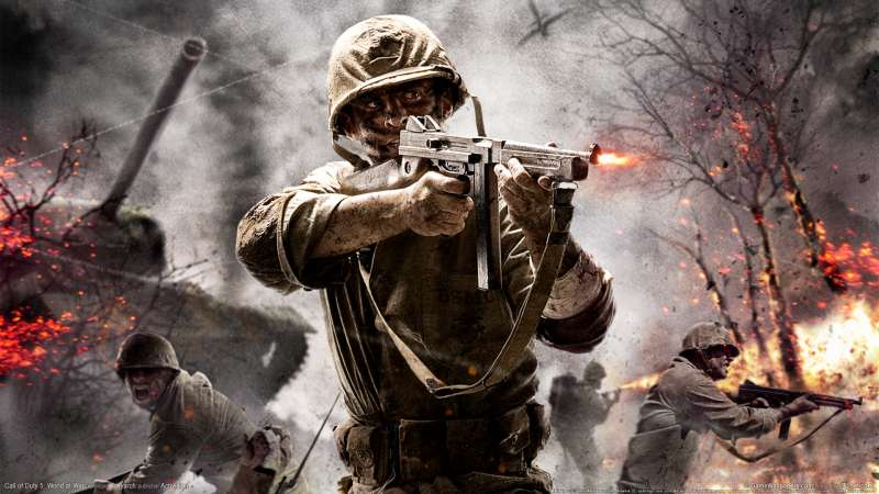 Call of Duty 5: World at War wallpaper or background 01