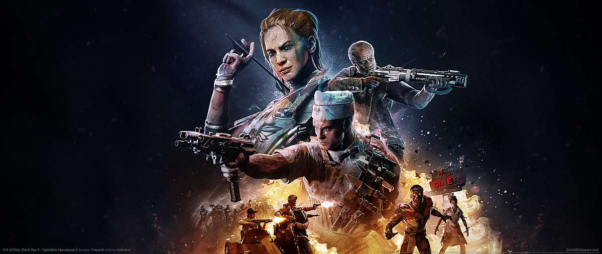 Call of Duty: Black Ops 4 - Operation Apocalypse Z wallpaper or background