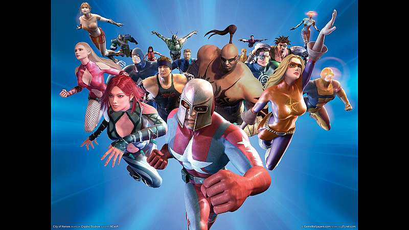 City of Heroes wallpaper or background