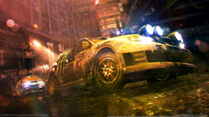 Colin McRae: Dirt 2 wallpaper or background 05