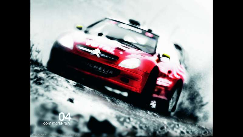 Colin McRae Rally 4 wallpaper or background 01