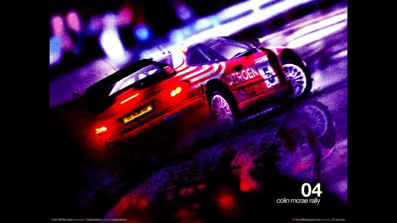 Colin McRae Rally 4 wallpaper or background 02