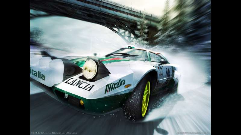 Colin McRae Rally 5 wallpaper or background 01