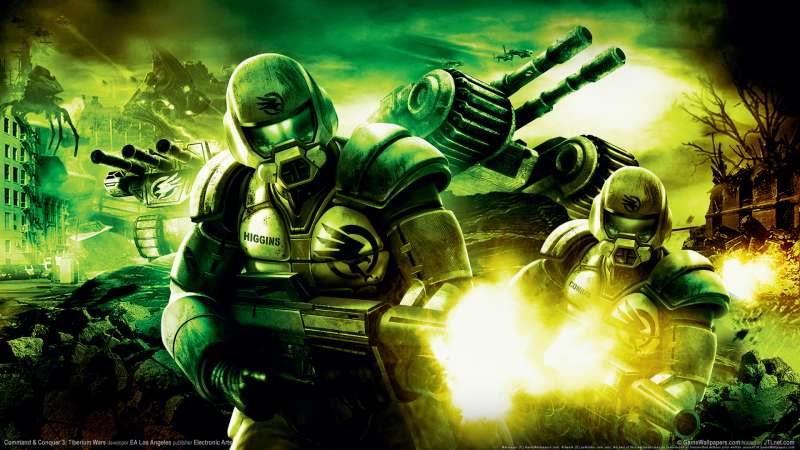 Command & Conquer 3: Tiberium Wars wallpaper or background 08