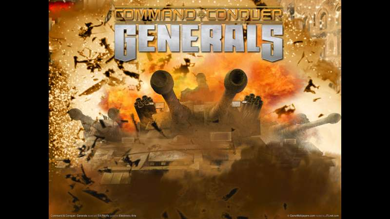 Command and Conquer: Generals wallpaper or background 01