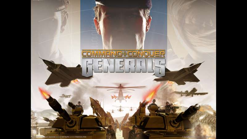 Command and Conquer: Generals wallpaper or background 02