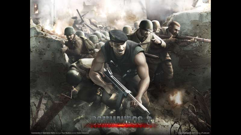 Commandos 3: Destination Berlin wallpaper or background 01