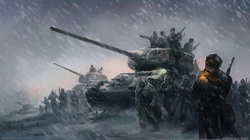 Company of Heroes 2 wallpaper or background 01