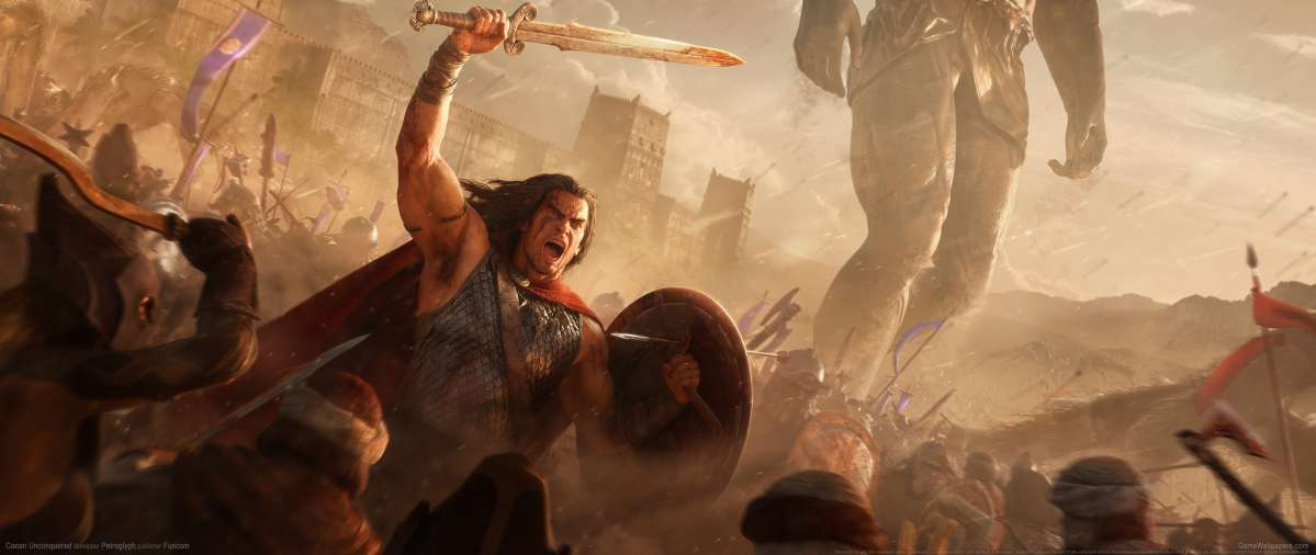 Conan Unconquered ultrawide wallpaper or background 01