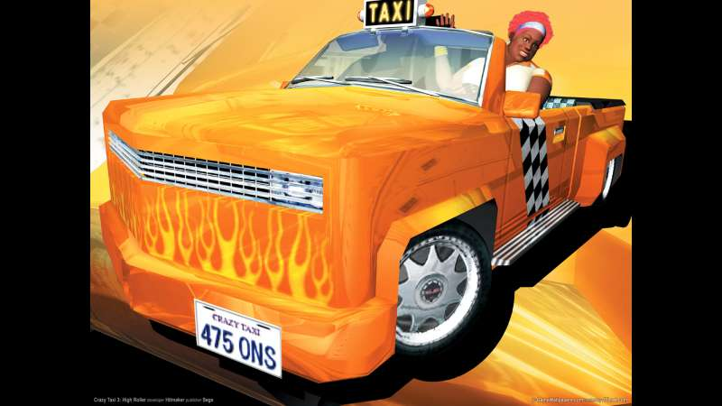 Crazy Taxi 3: High Roller wallpaper or background 01