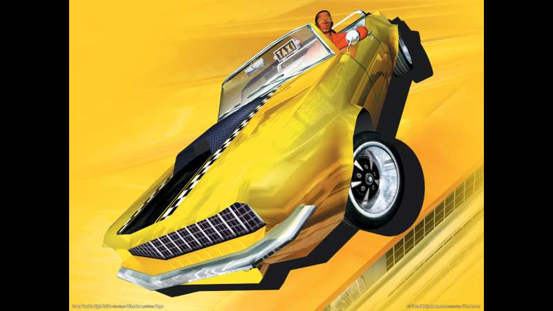 Crazy Taxi 3: High Roller wallpaper or background