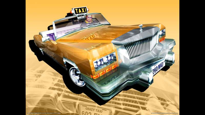 Crazy Taxi 3: High Roller wallpaper or background 03
