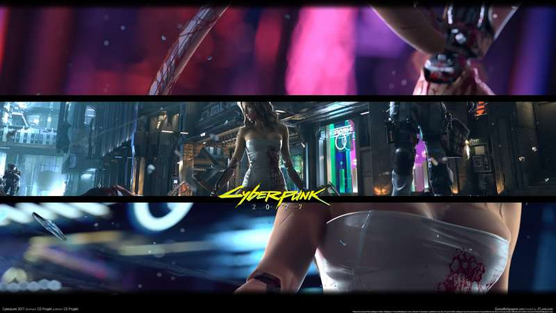 Cyberpunk 2077 wallpaper or background 02