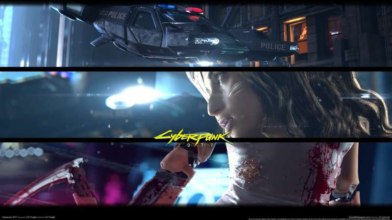 Cyberpunk 2077 wallpaper or background 03