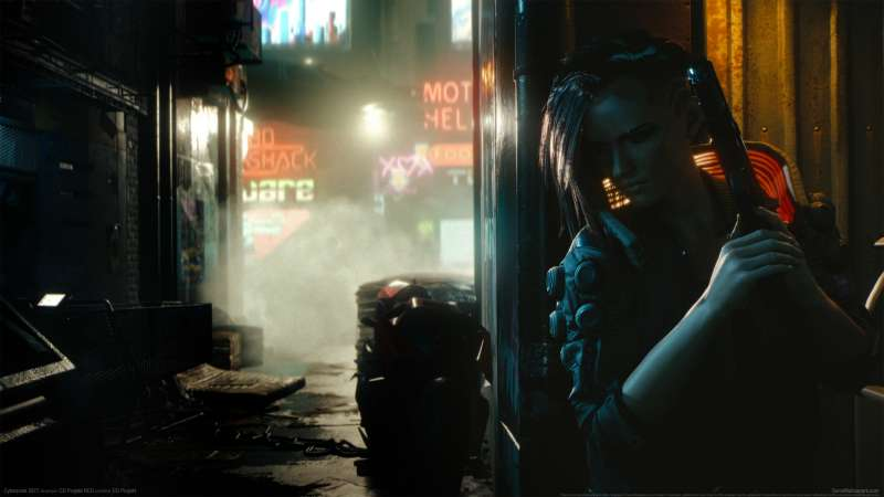 Cyberpunk 2077 wallpaper or background 05