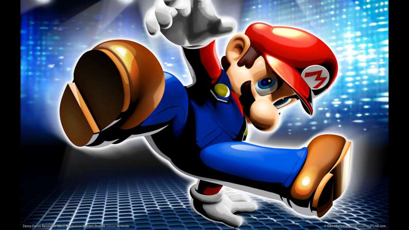 Dance Dance Revolution Mario Mix wallpaper or background 01
