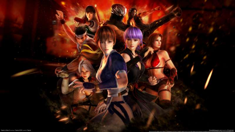 Dead or Alive 5 wallpaper or background 05