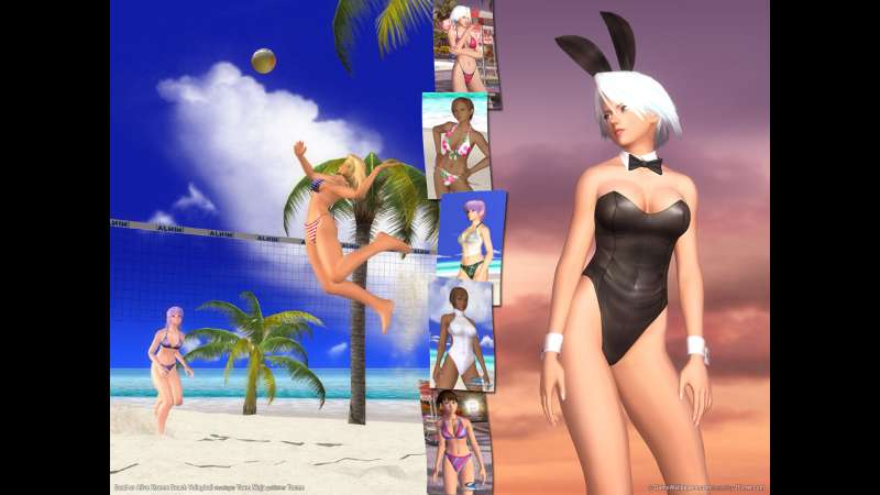 Dead or Alive Xtreme Beach Volleyball wallpaper or background