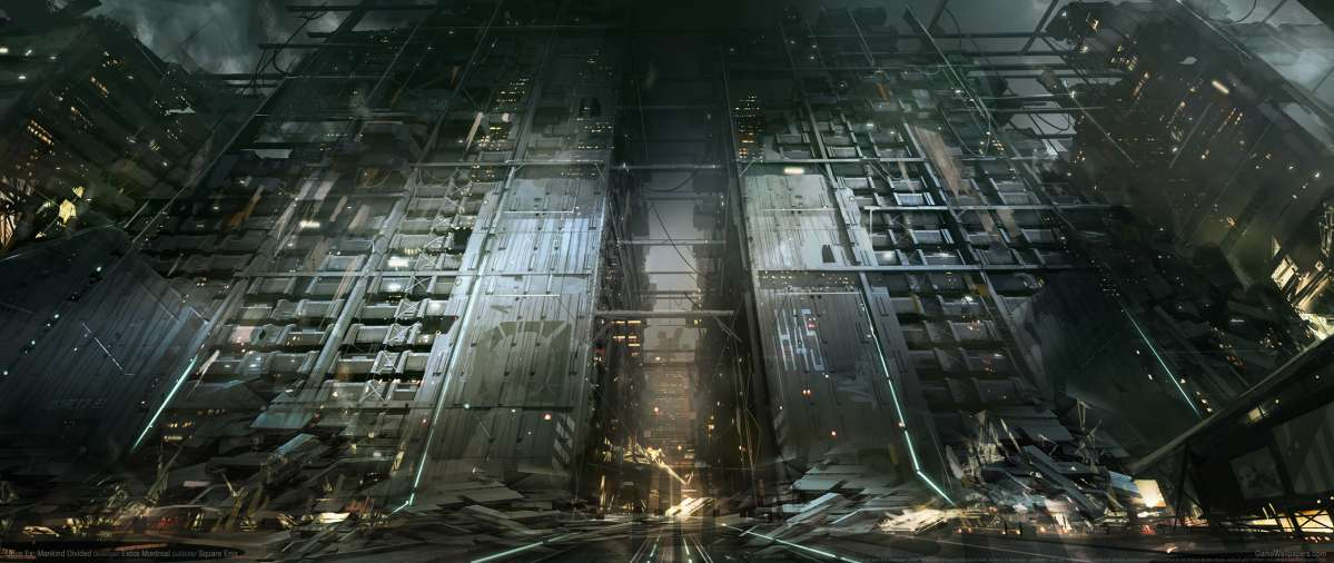Deus Ex: Mankind Divided UltraWide 21:9 Wallpapers Or