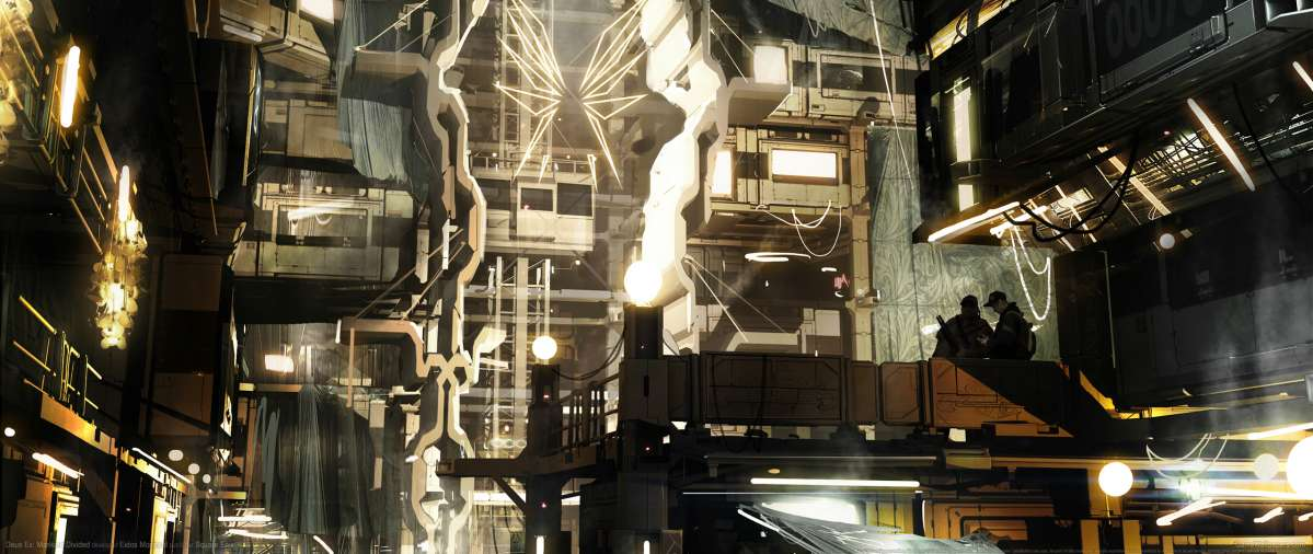 Deus Ex Mankind Divided Wallpaper: Deus Ex: Mankind Divided UltraWide 21:9 Wallpapers Or