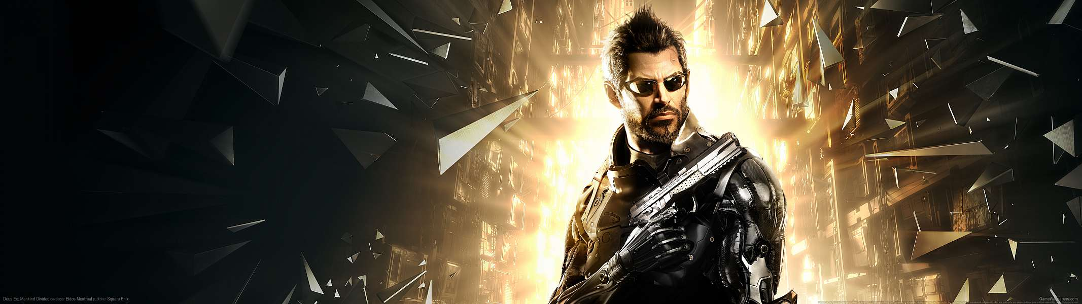 Deus Ex: Mankind Divided dual screen wallpaper or background