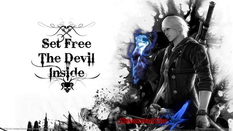 Devil May Cry 4 wallpaper or background 04