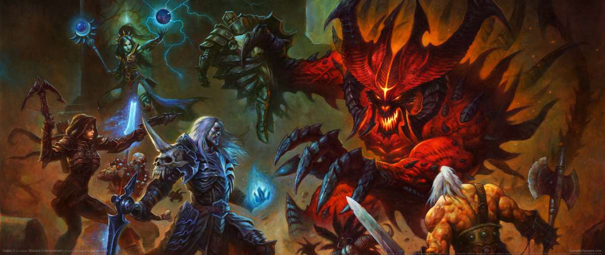 Diablo 3 UltraWide 21:9 Wallpapers Or Desktop Backgrounds