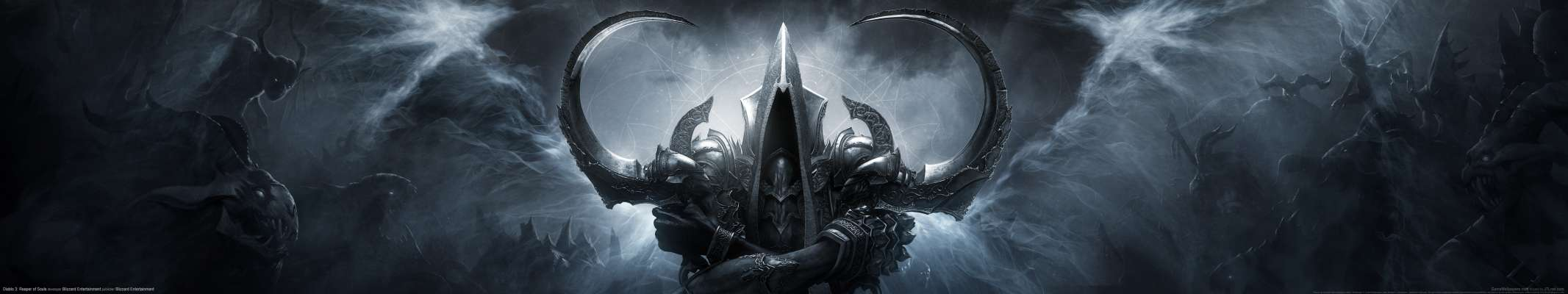 Diablo 3: Reaper of Souls triple screen wallpaper or background