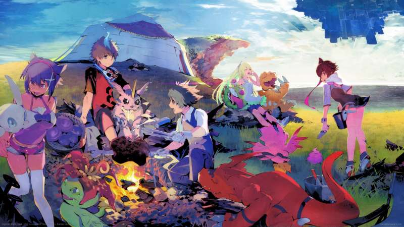 Digimon World: Next Order wallpaper or background