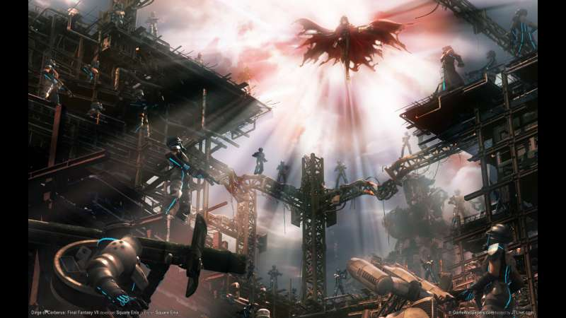 Dirge of Cerberus: Final Fantasy VII wallpaper or background 02