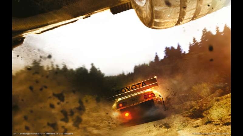 DIRT: Colin McRae Off-Road wallpaper or background 01