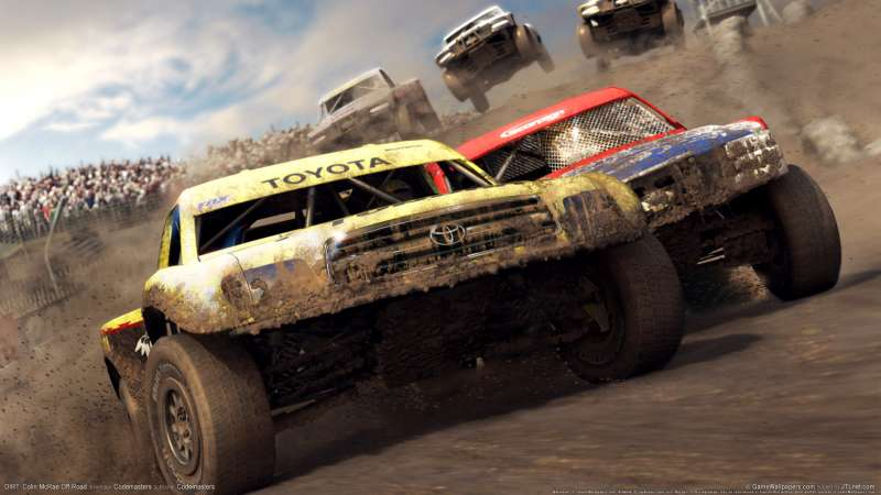 DIRT: Colin McRae Off-Road wallpaper or background 02