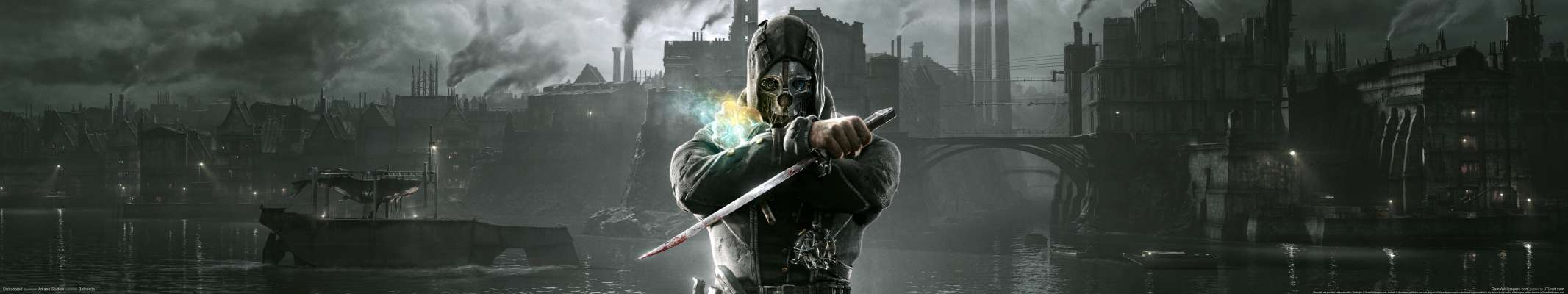 Dishonored triple screen wallpaper or background