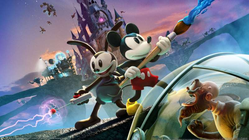 Disney Epic Mickey 2: The Power of Two wallpaper or background 01