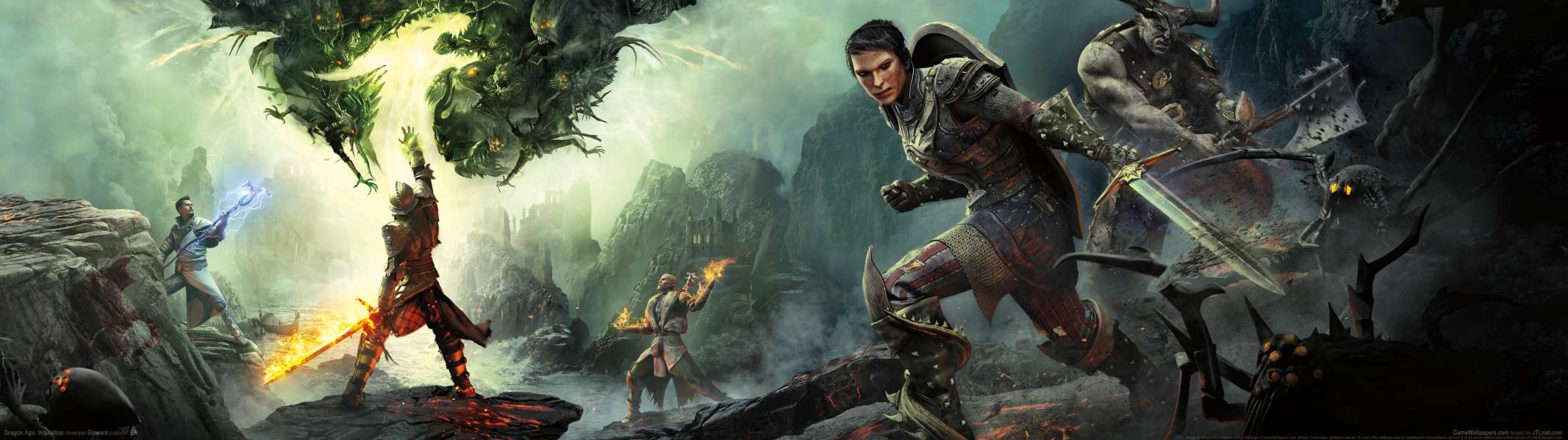 Dragon Age: Inquisition dual screen wallpaper or background