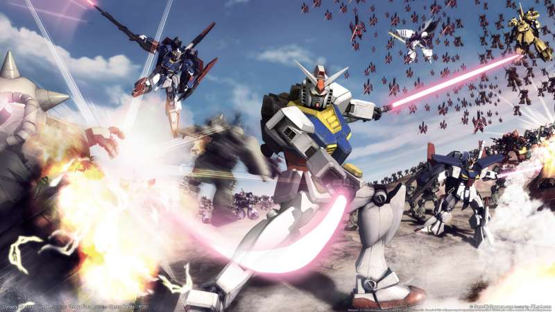 Dynasty Warriors: Gundam wallpaper or background 01