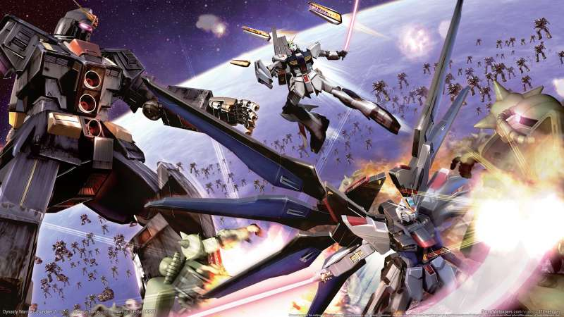 Dynasty Warriors: Gundam 2 wallpaper or background 01
