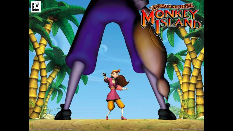 Escape from Monkey Island wallpaper or background