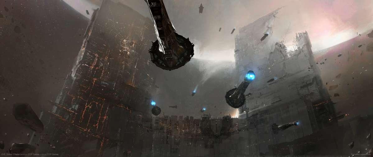 EVE Online Citadel Ultrawide Wallpaper Or Background 01
