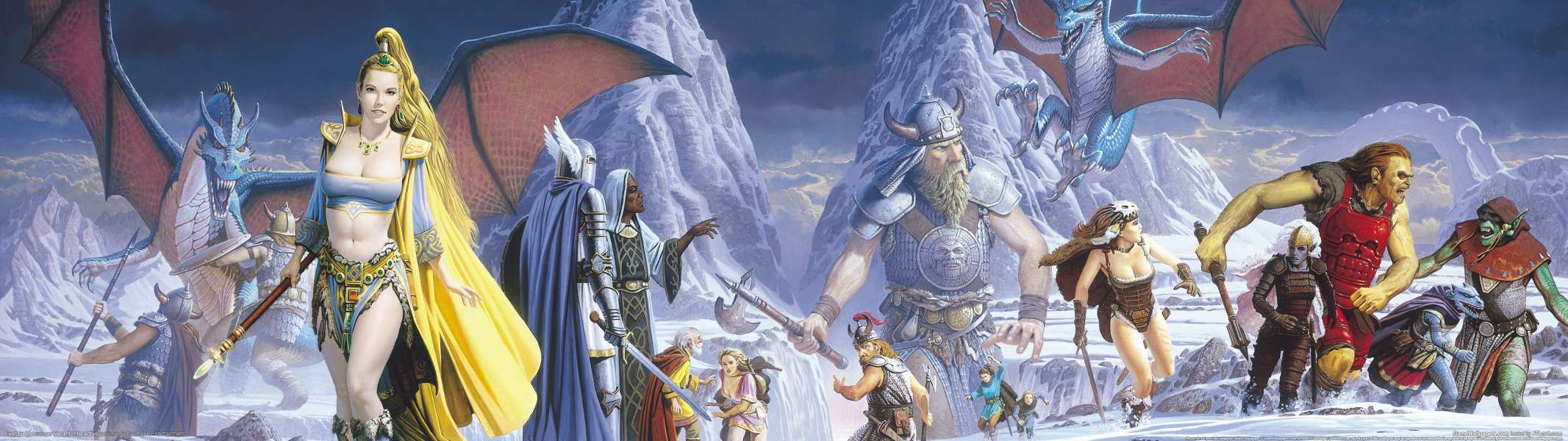 Everquest dual screen wallpaper or background