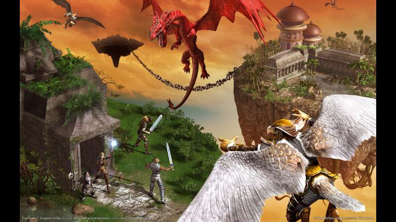 EverQuest 2: Kingdom of Sky wallpaper or background 01