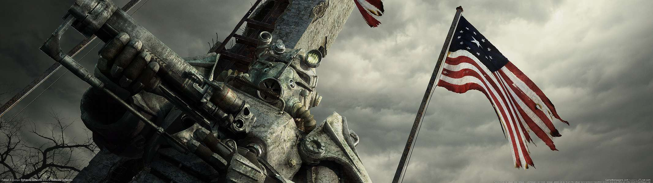 Fallout 3 dual screen wallpaper or background