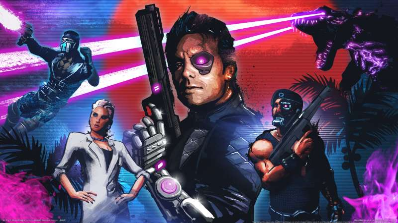 Far Cry 3: Blood Dragon wallpaper or background