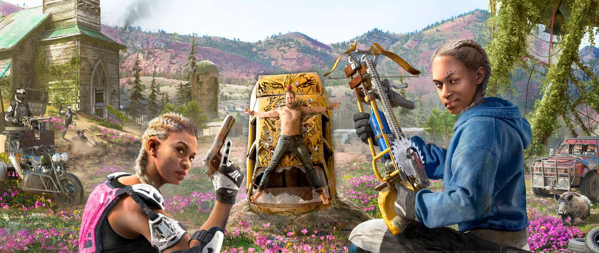 Far Cry New Dawn wallpaper or background