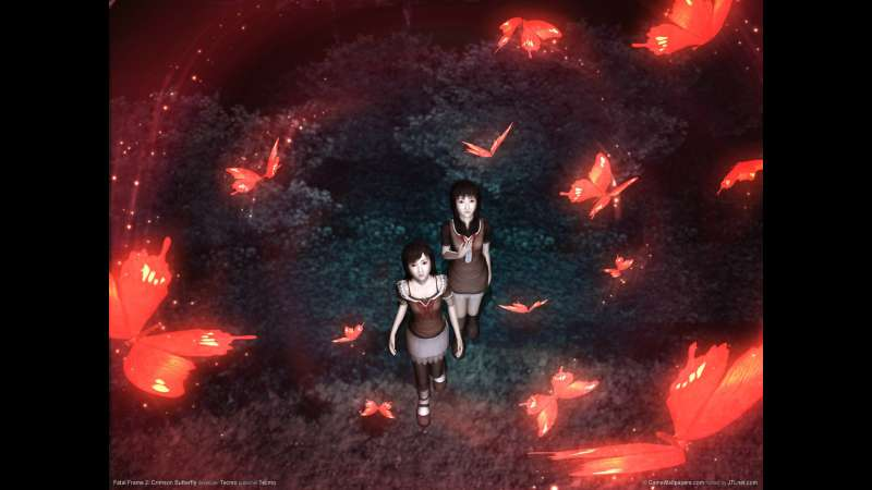 Fatal Frame 2: Crimson Butterfly wallpaper or background 01