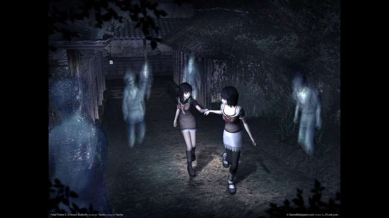 Fatal Frame 2: Crimson Butterfly wallpaper or background 02